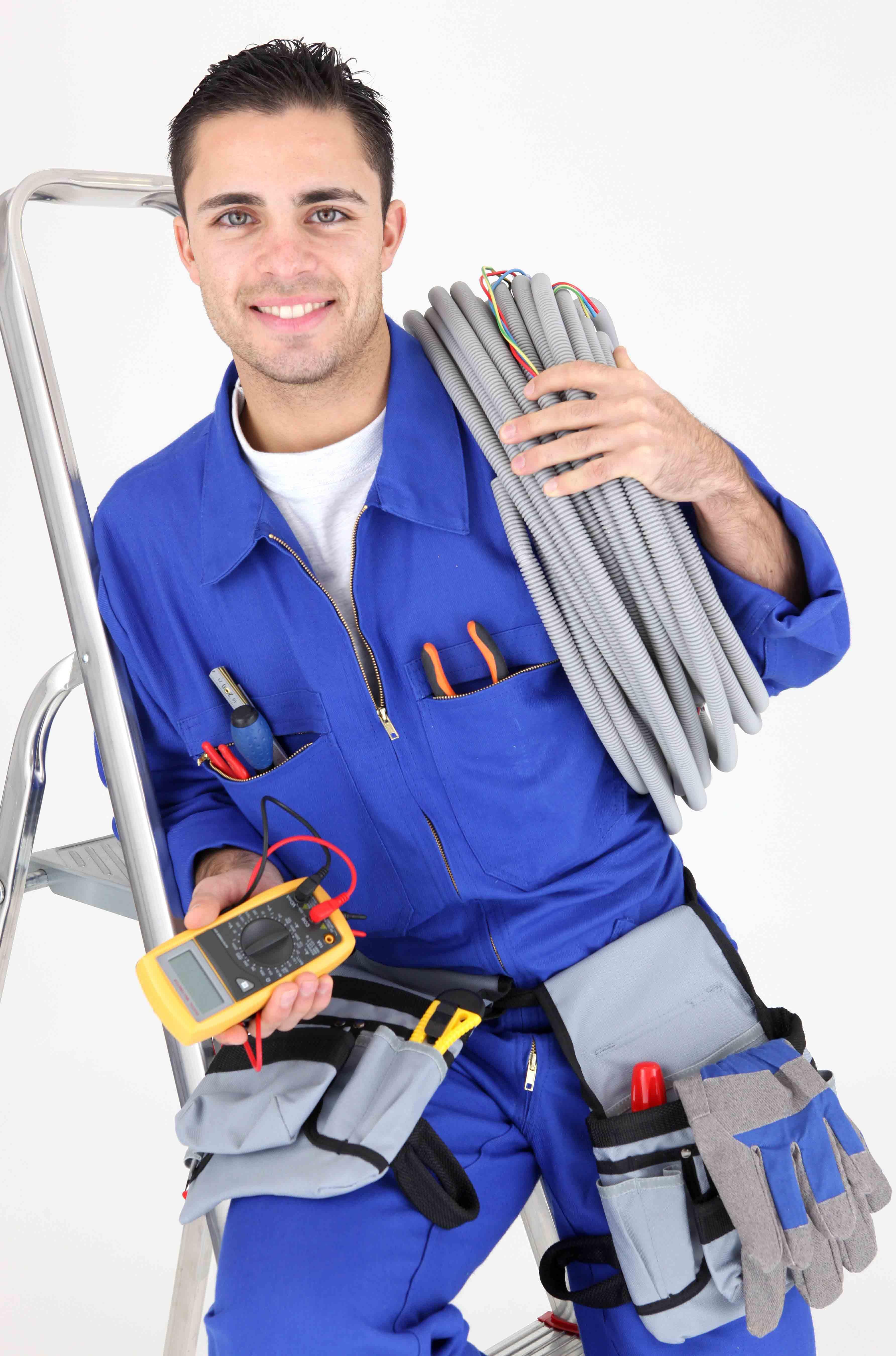 Pics for electricista for Escalera de electricista